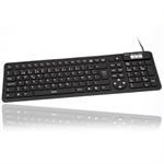 Flexible mini 2006 keyboard, sort, (NORSK layout)