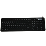 Flexible mini 2006 keyboard, sort (FINSK layout)