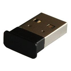 Micro Bluetooth Dongle, sort, firkantet