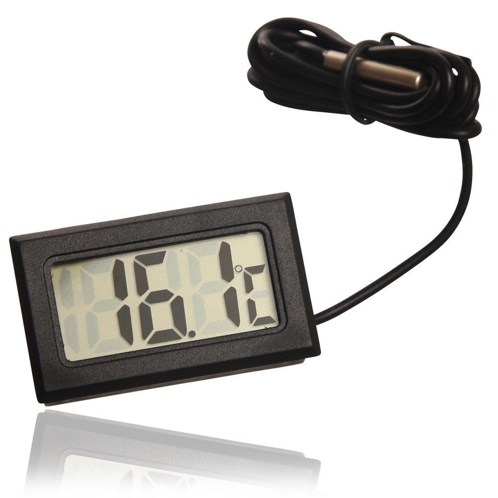 Digitalt Termometer med LCD display og ekstern sensor be51be32b308d