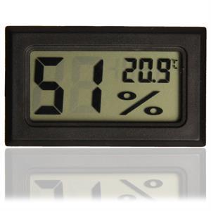Digitalt kombineret hygrometer og termometer med tydeligt LCD display og  ekstern sensor som kan placeres 1 2f7bec0ea2bd2