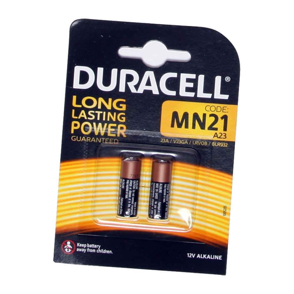 Populära A23 Duracell batteri ~ 2-pak ~ MN21 UK-92