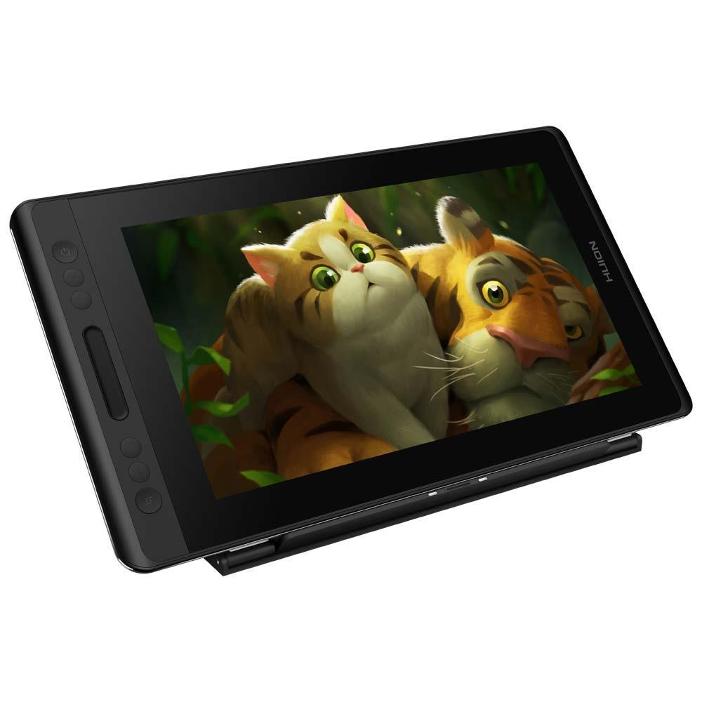 USB Tegneplade med pen og indbygget skærm - Huion Kamvas Pro 13 - 39 x 22 cm